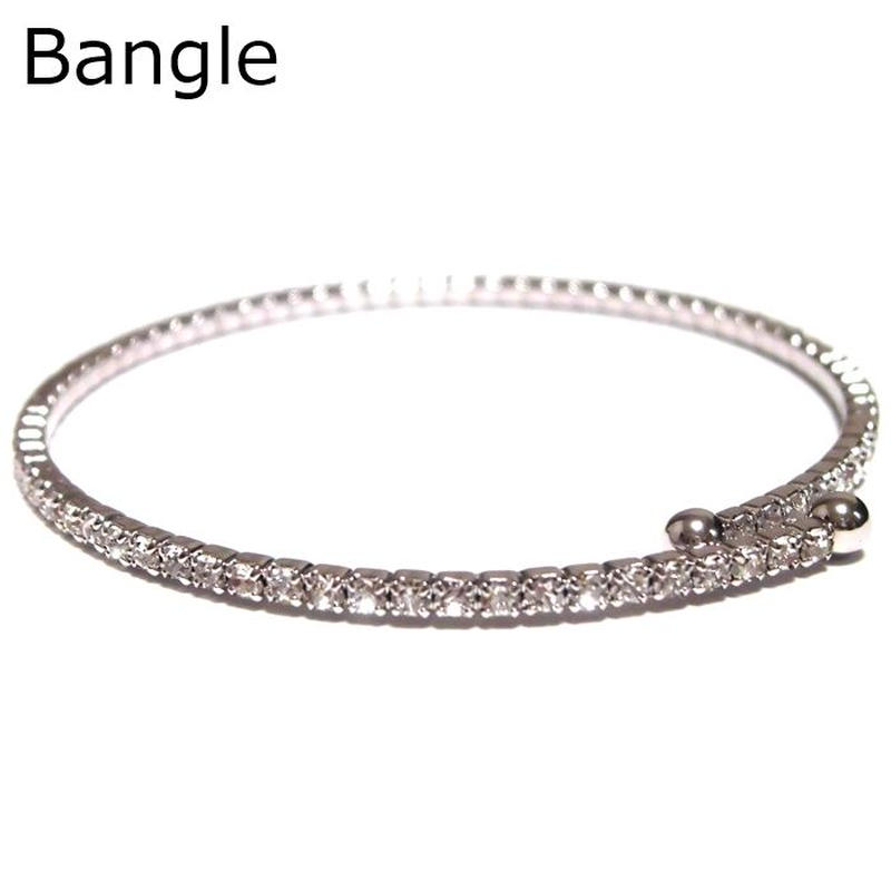 Sugar Bean Jewelry シュガービーンジュエリー アメリカ 華奢 軽い お洒落 バングル single bangle white ジルコニア ホワイト ブレスレット 海外 ブランド