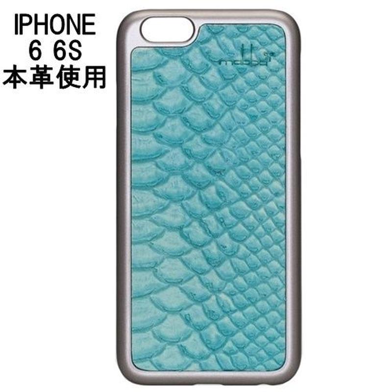 セール mabba マッバ 本革 iphone6 iphone6s レザー ケース Snake Laguna iPhone 6 6s case