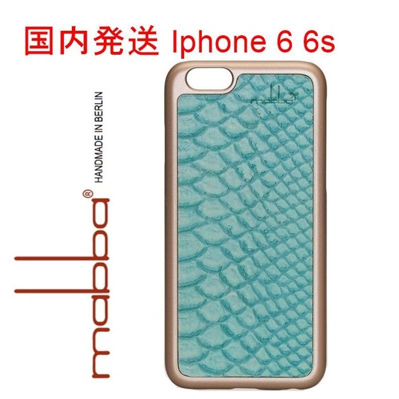 mabba マッバ ドイツ の お洒落な 質感 The Snake Laguna iPhone 6 6s Hulle アイフォン シックス エス カバー 本革 レザー 海外 ブランド