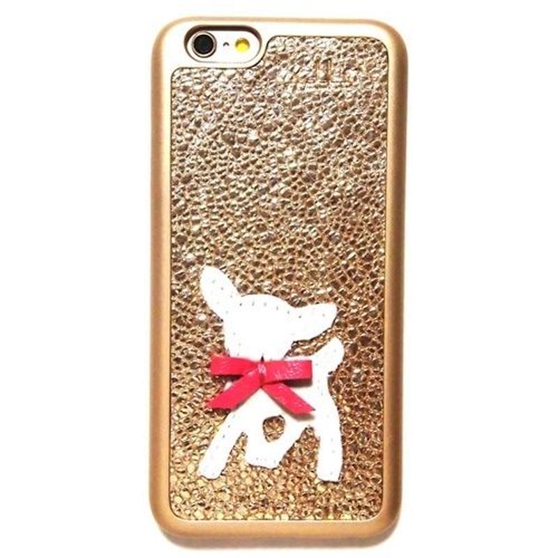 mabba マッバ iphone6sケース iphone6ケース ドイツ製 バンビ ゴールド 本革 レザー アイフォンシックスエス 海外ブランド