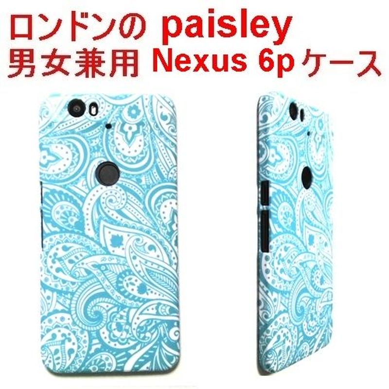Lemur ロンドン ペイズリー Paisley nexus 6p CASE グーグル google ネクサス シックス ピー 携帯ケース カバー ハード ブランド 送料無料