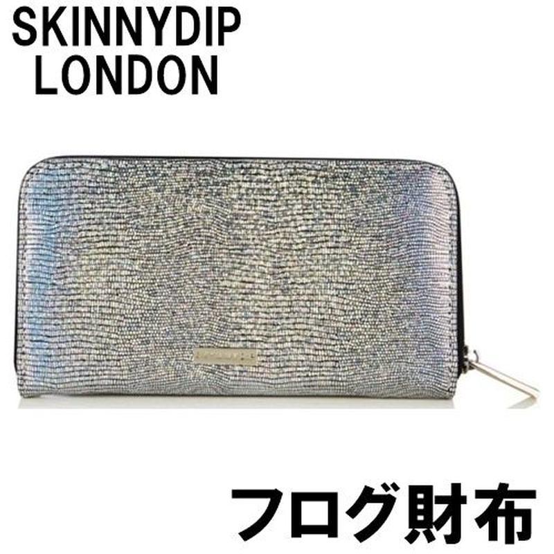 再入荷 skinnydip ロンドンデザイナーのオシャレな横長財布 男性でも センスが良い欧州のオサイフ レディース 海外ブランド