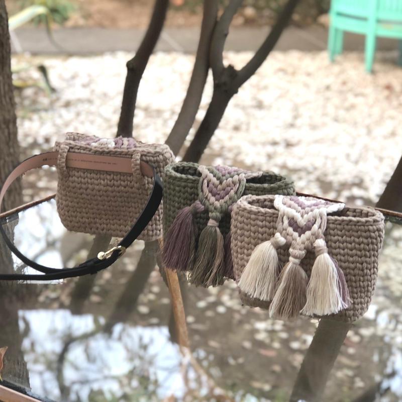 misanga  mini bag