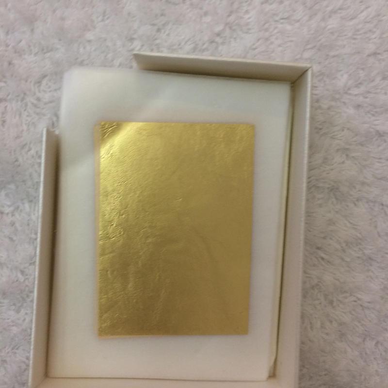 プラチナ金箔100枚(肌用)