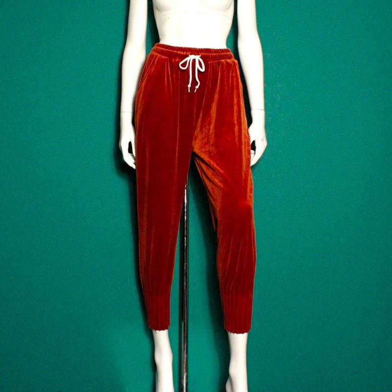 【migration】Velour pants / mg-109 / ベロアパンツ
