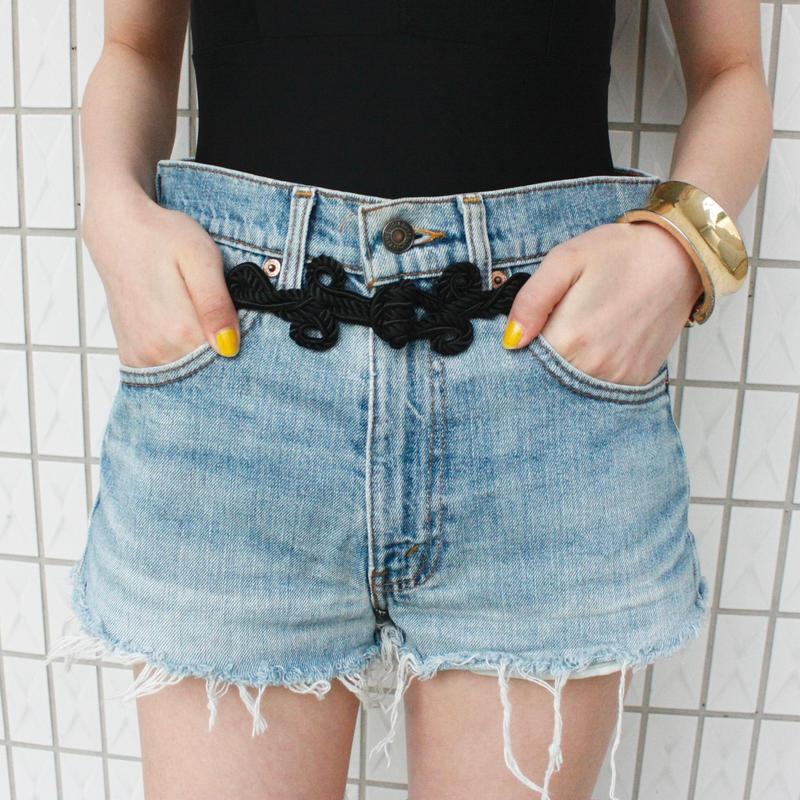 【Remake】Levis China button denim pants / リーバイスチャイナボタン付きデニムパンツ