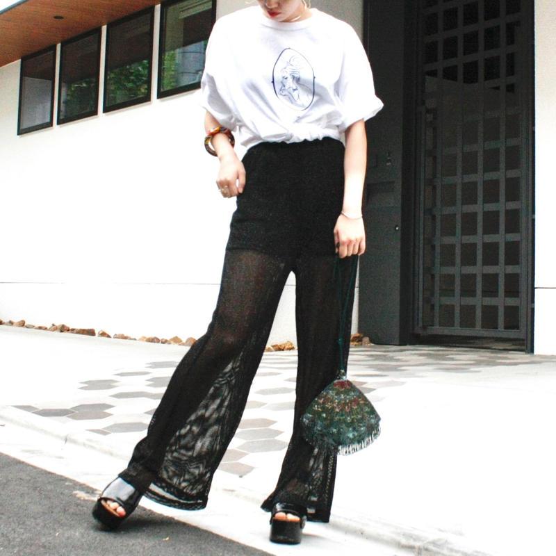 【Used】Glitter mesh pants / グリッターメッシュパンツ