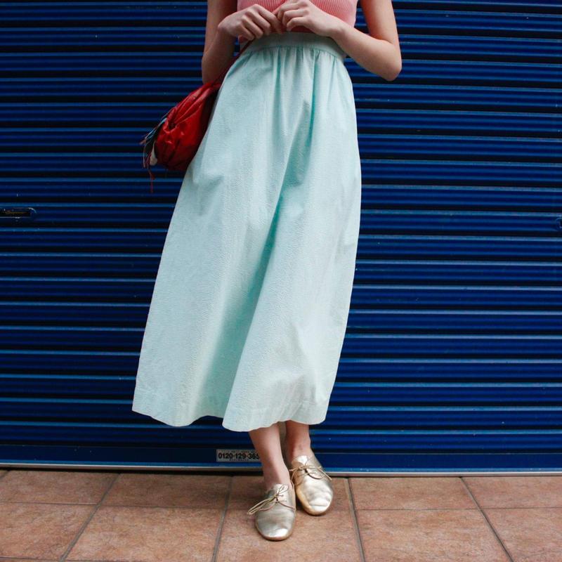 【Used】Stripe skirt  / ストライプスカート