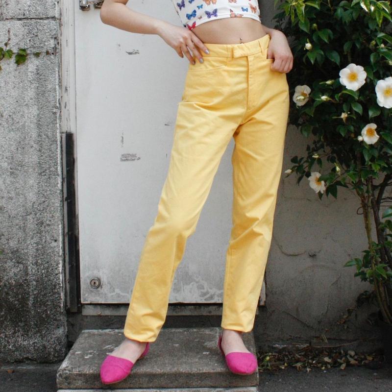 【Used Item】Ralph Lauren yellow pants / ラルフローレンイエローパンツ