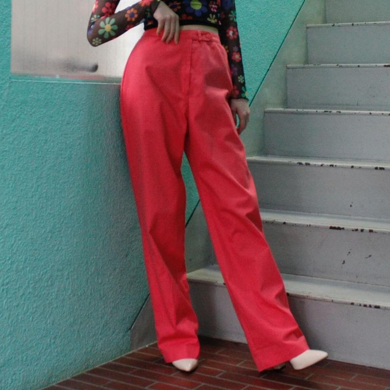 【Vintage】 1980's pink pants / ヴィンテージピンクパンツ