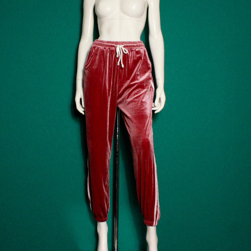 【migration】Jersey velour pants / mg-83 / ジャージベロアパンツ