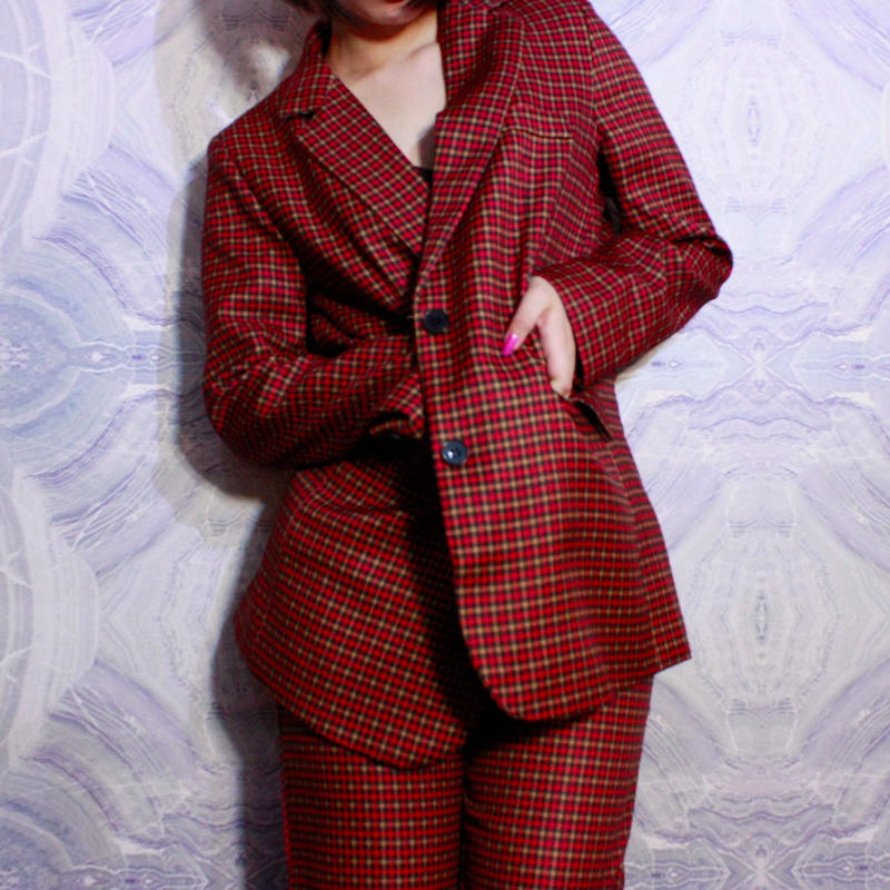 【migration】Checkered Jacket / mg-109