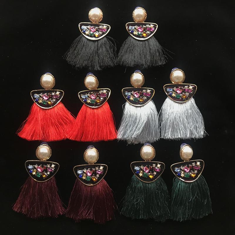 【Selected item】Bijou Tassel Pierce