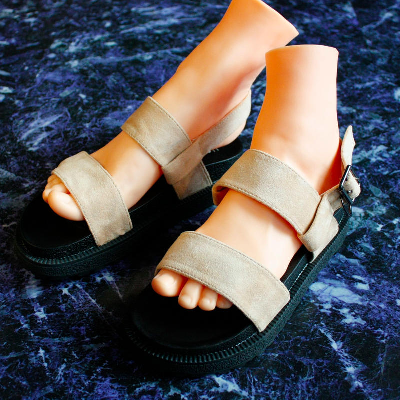 【Selected item】Strap Sandal / beige