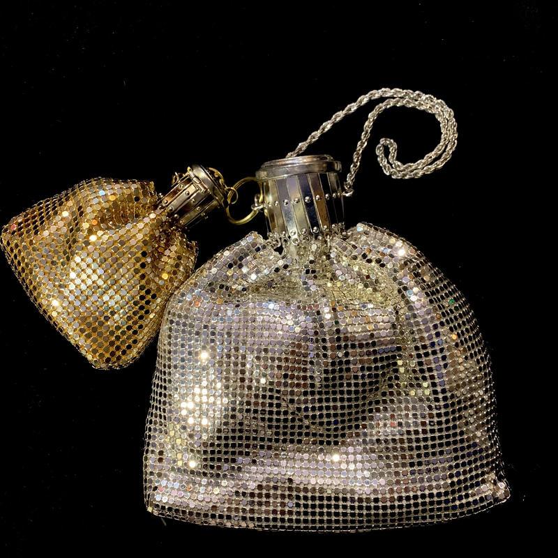 【Used】 silver&gold Spangle bag / スパンコール2セットバッグ