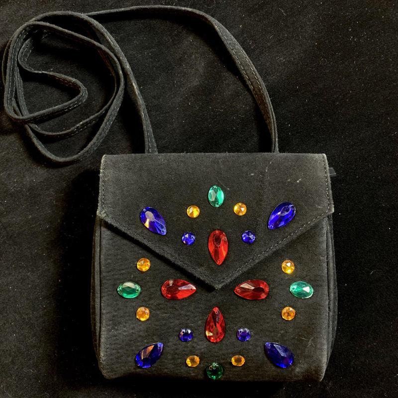 【Used Item】Bijou black shoulder bag