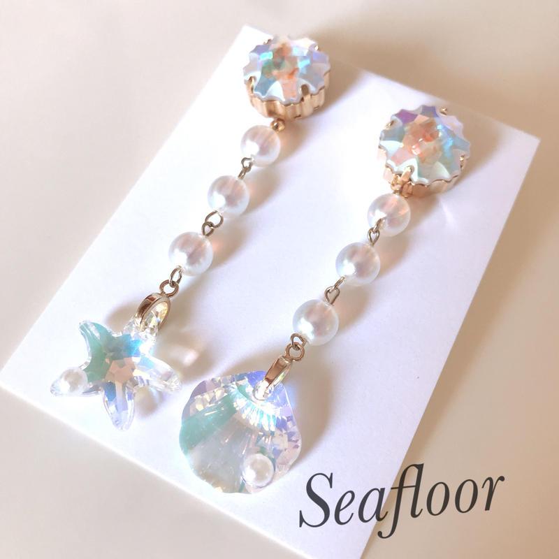 Seafloor ピアスorイヤリング