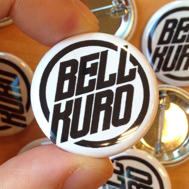 bellkuro ロゴマーク 缶バッジ