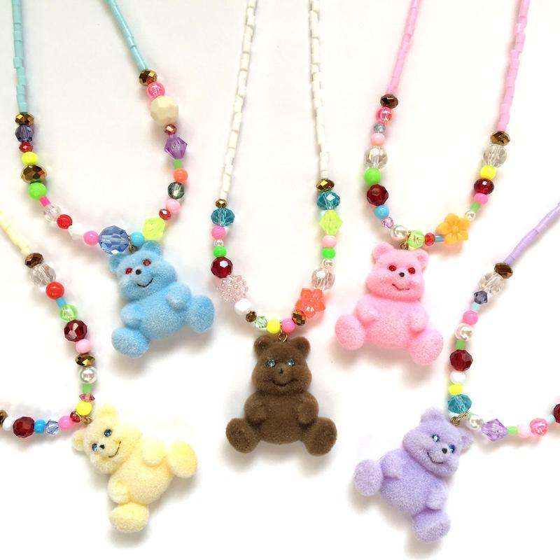 おもちゃ BEAR ネックレス