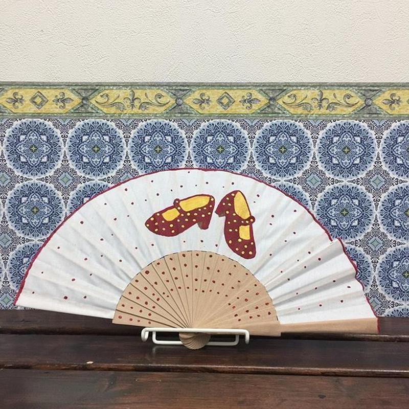 Abanico de la Abuela (手描き)