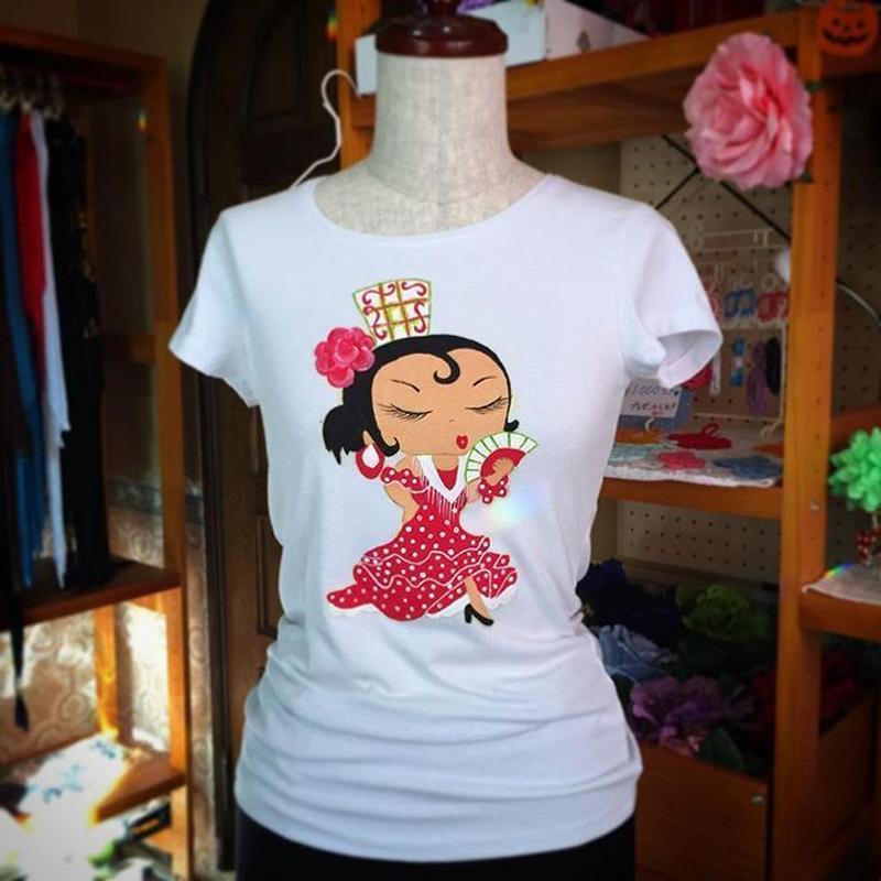 Camiseta Abuela (手描き)