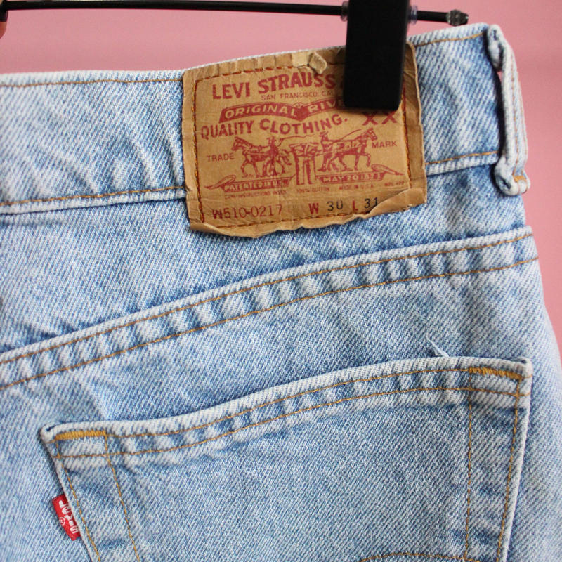 【levis510】made in usa denim