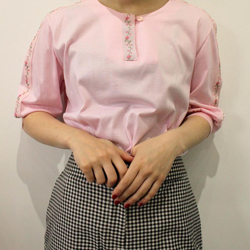 pink rib tops