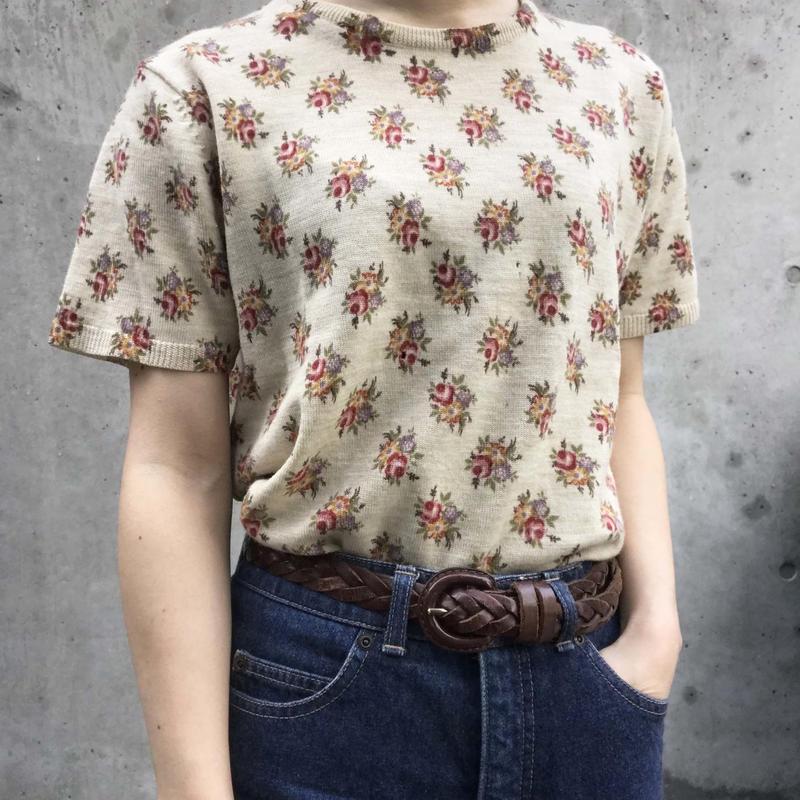 【lauraashley】flower knit
