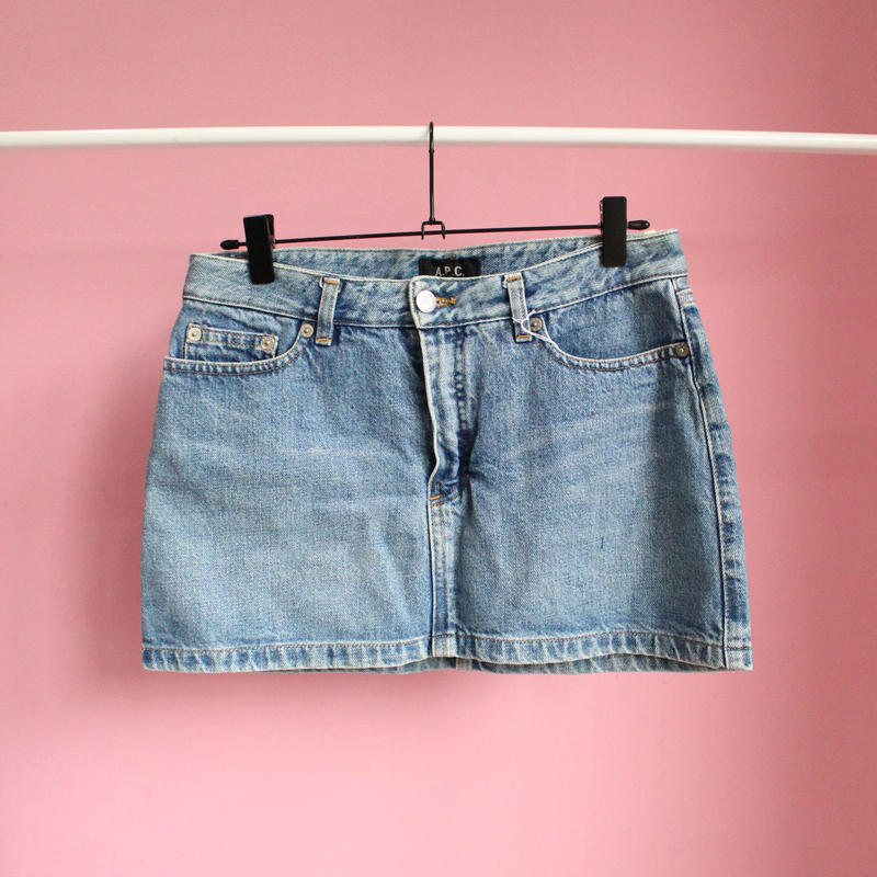 【APC】denim mini skirt