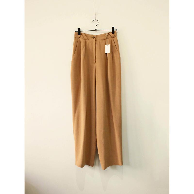pink beige slacks