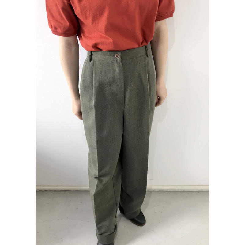 deep green slacks