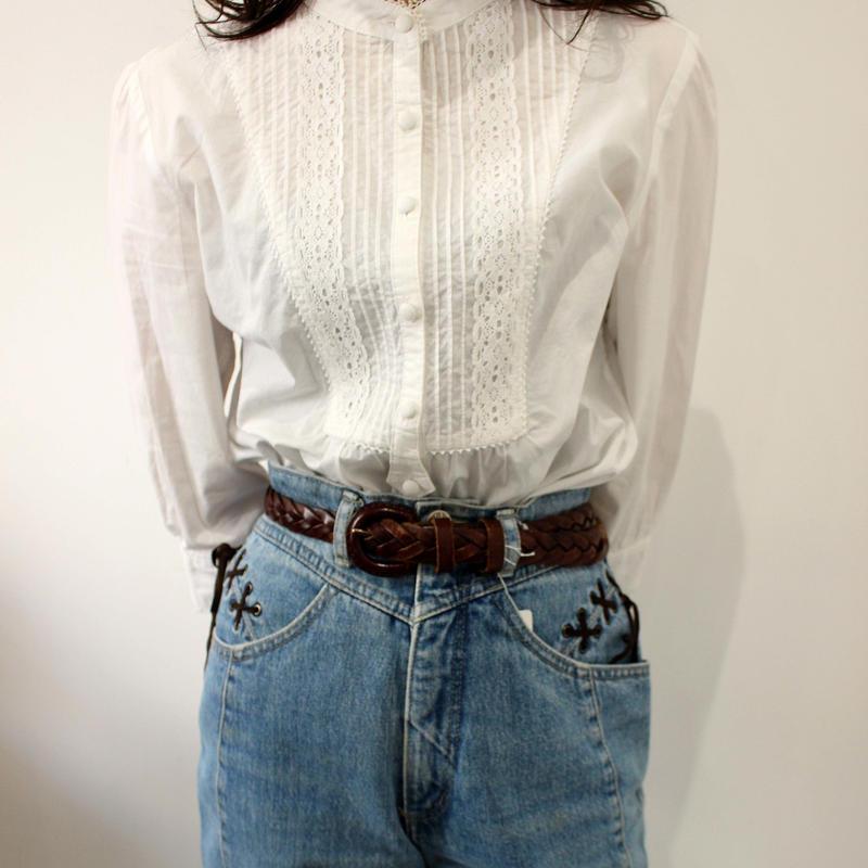 lace up jeans