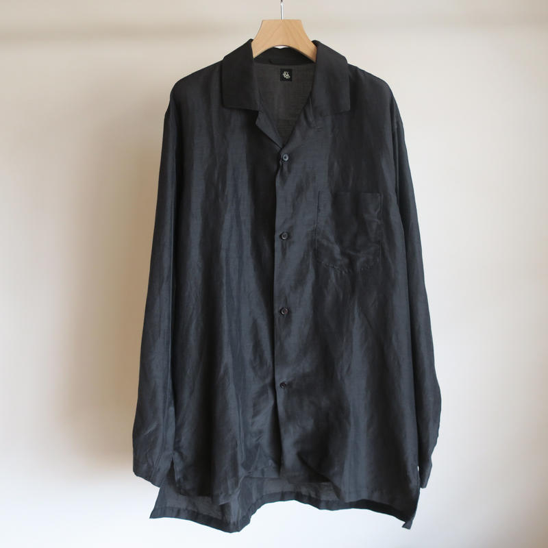 KAPTAIN SUNSHINE Sleeping Wide Shirt BLACK