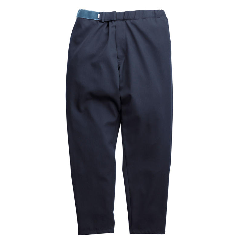 Graphpaper MEN Selvage Wool Cook Pants NAVY GM191-40013B