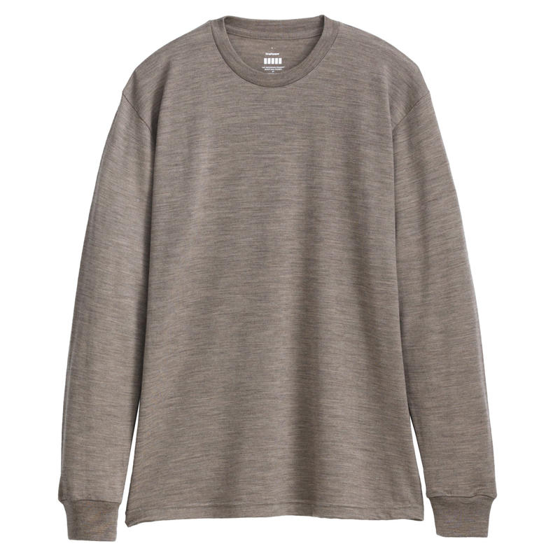 Graphpaper Washable Wool Crew Neck Tee 3colors