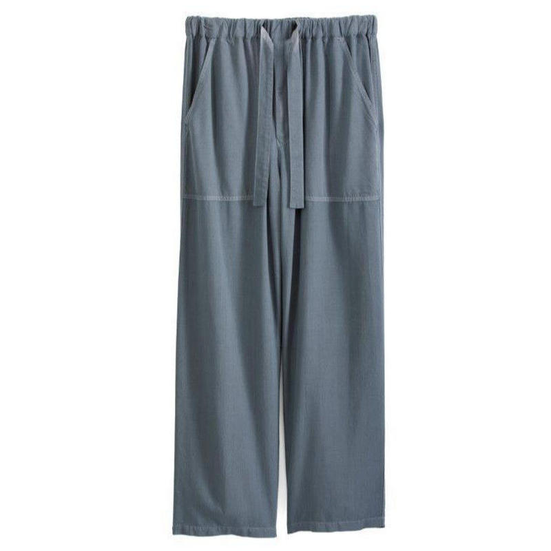 Graphpaper MEN Soft Cupro Baker Pants GRAY GM191-40009