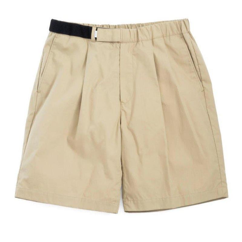 Graphpaper MEN Stevensons Wide Cook Shorts 2colors GM191-40016