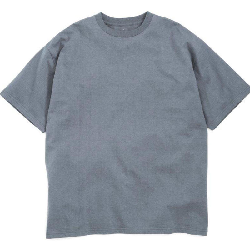 Graphpaper MEN S/S Oversized Tee C.GRAY GU191-70057GB