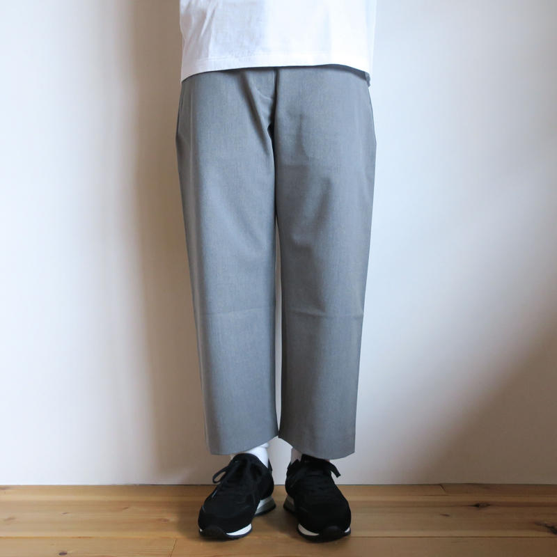 YAECA CONTEMPO WOMEN 2WAY PANTS ストレート 07651
