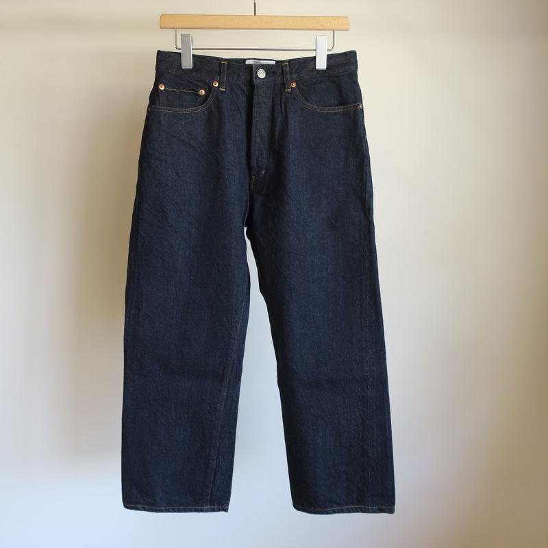YAECA MEN Wide Croped Denim 2-13W