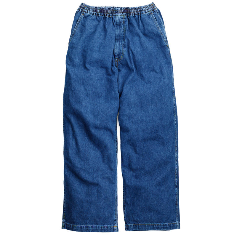 Graphpaper MEN Denim Baggy Pants BLEACH GM191-40103B