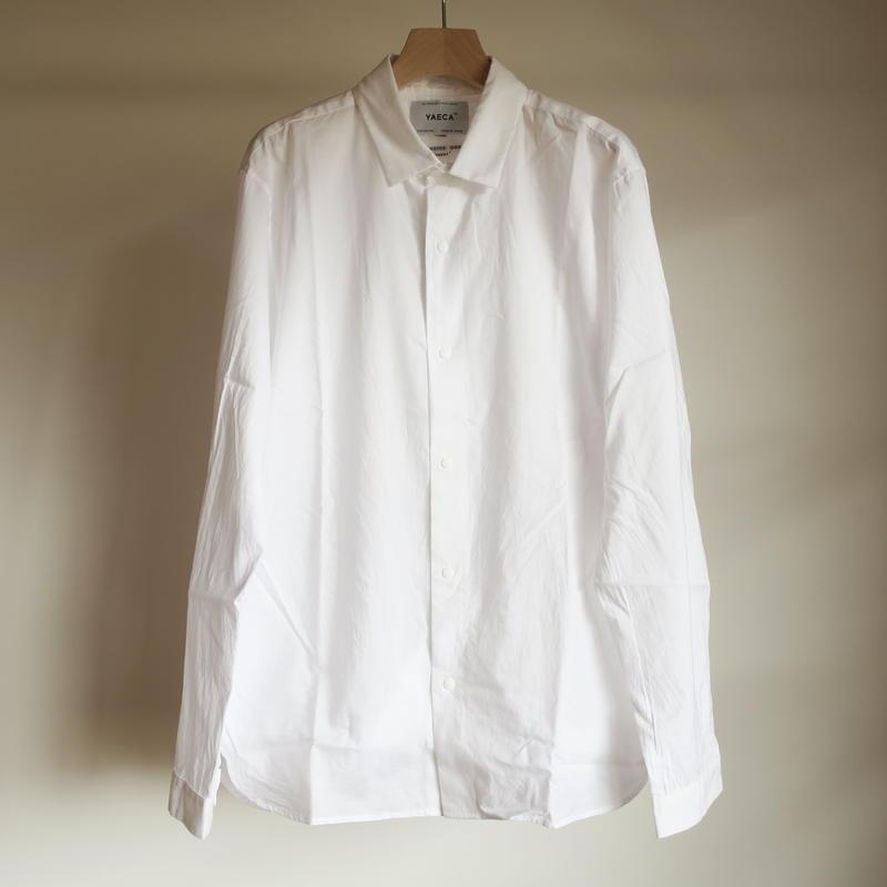 YAECA MEN COMFORT SHIRT RELUX WHITE 18107