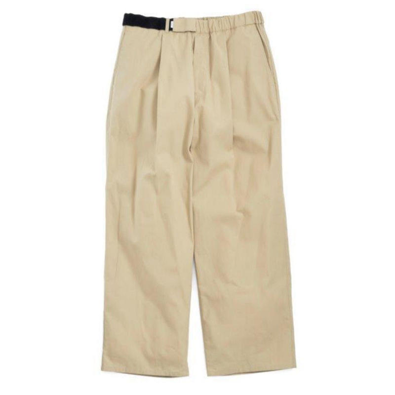 Graphpaper MEN Stevensons Wide Cook Pants 2colors GM191-40015