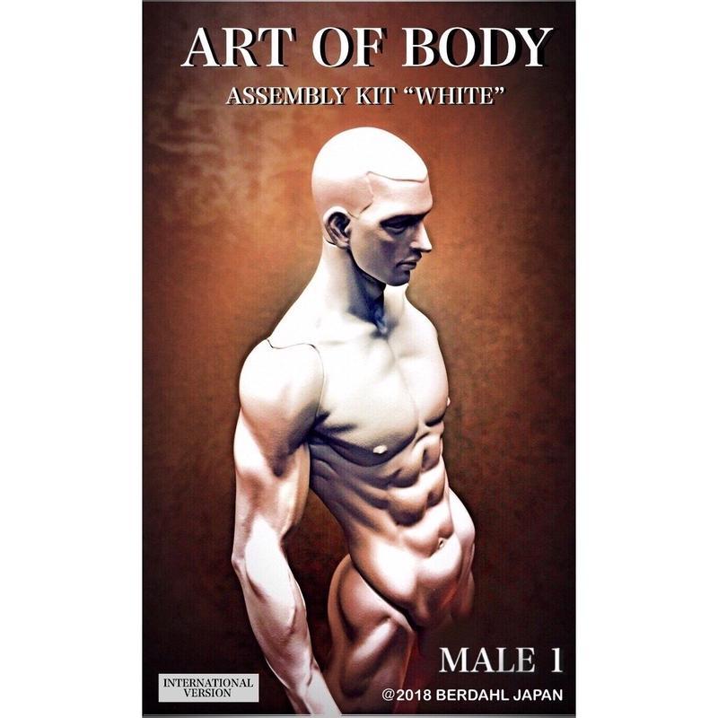 ART OF BODY MALE1(Assembly kit)color:WHITE [INTERNATIONAL VERSION]