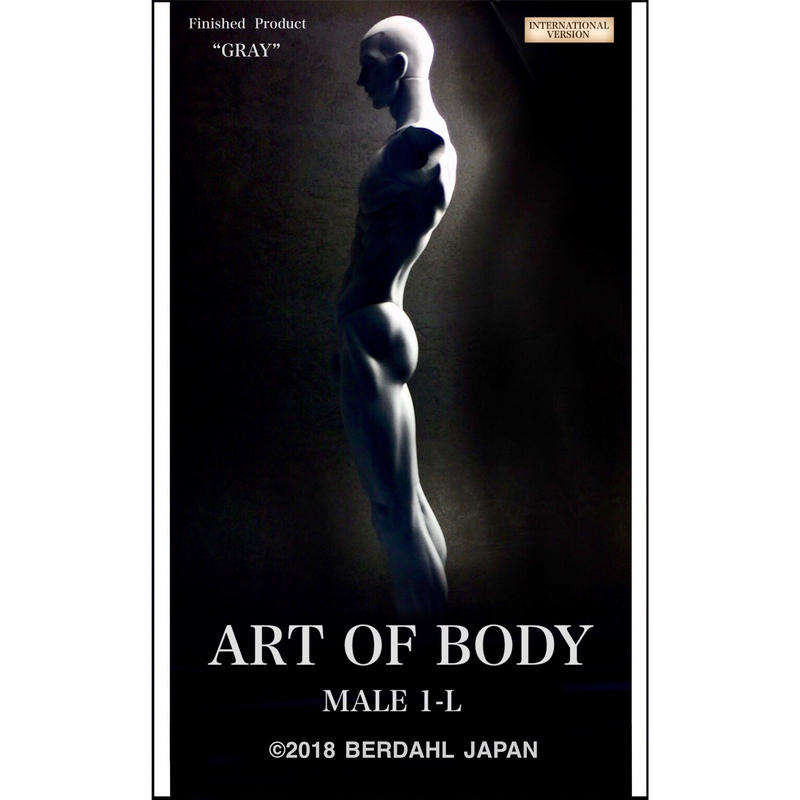 ART OF BODY MALE1-L(Finished  Product)color:GRAY [INTERNATIONAL VERSION]