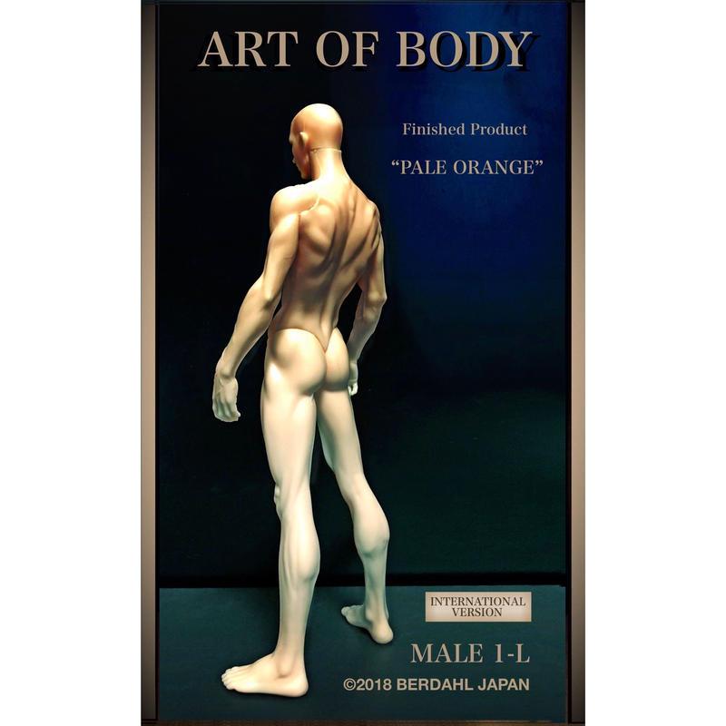 ART OF BODY MALE1-L(Finished  Product)color: PALEORANGE[INTERNATIONAL VERSION]