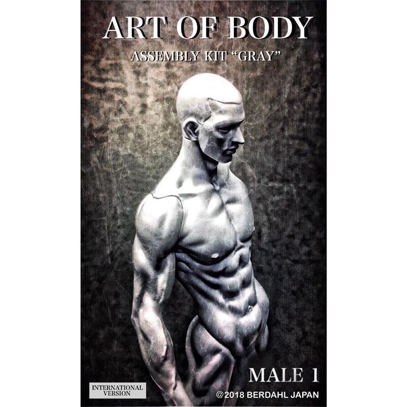 ART OF BODY MALE1(Assembly kit)color:GRAY [INTERNATIONAL VERSION]