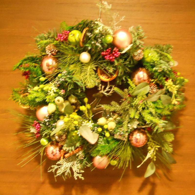 クリスマス飾り リース