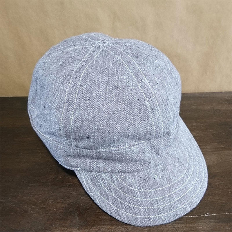 Vtg  Herringbone Work Cap