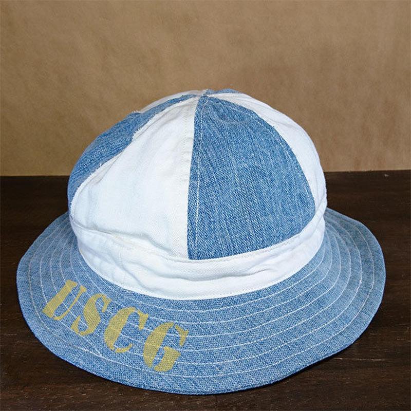 Vtg Twotone 6panel Hat